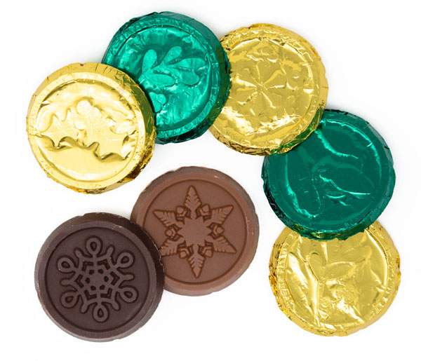 Calendar Chocolate Coins