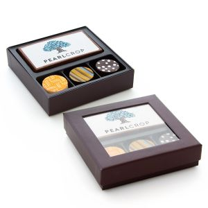 Edible Imprint Chocolate Bar With 3 Truffles