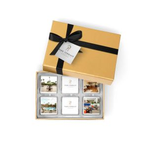 12 Chocolate Squares in Gift Box