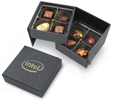 8-piece truffle business gift