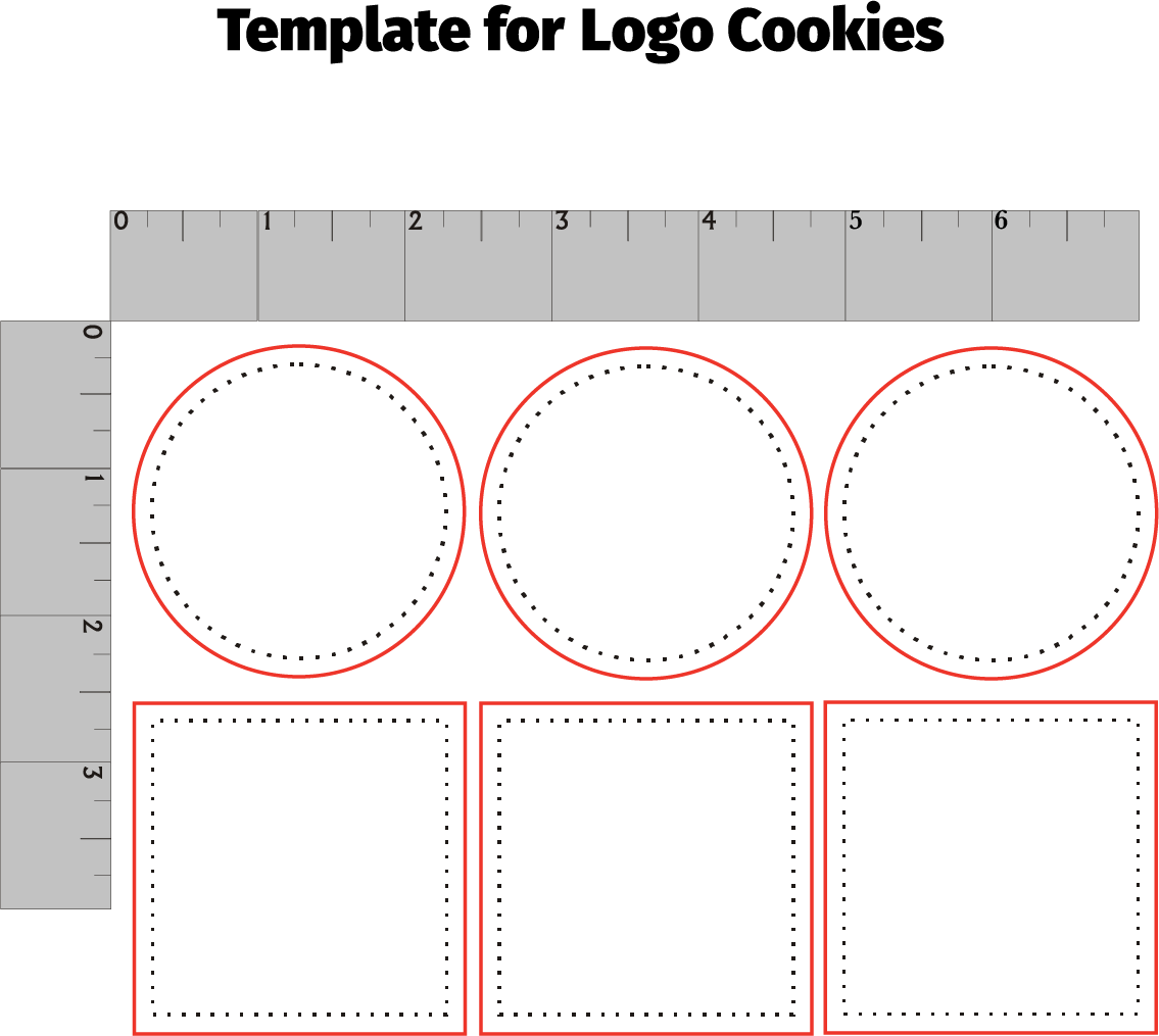 6-Piece Logo Cookie Set