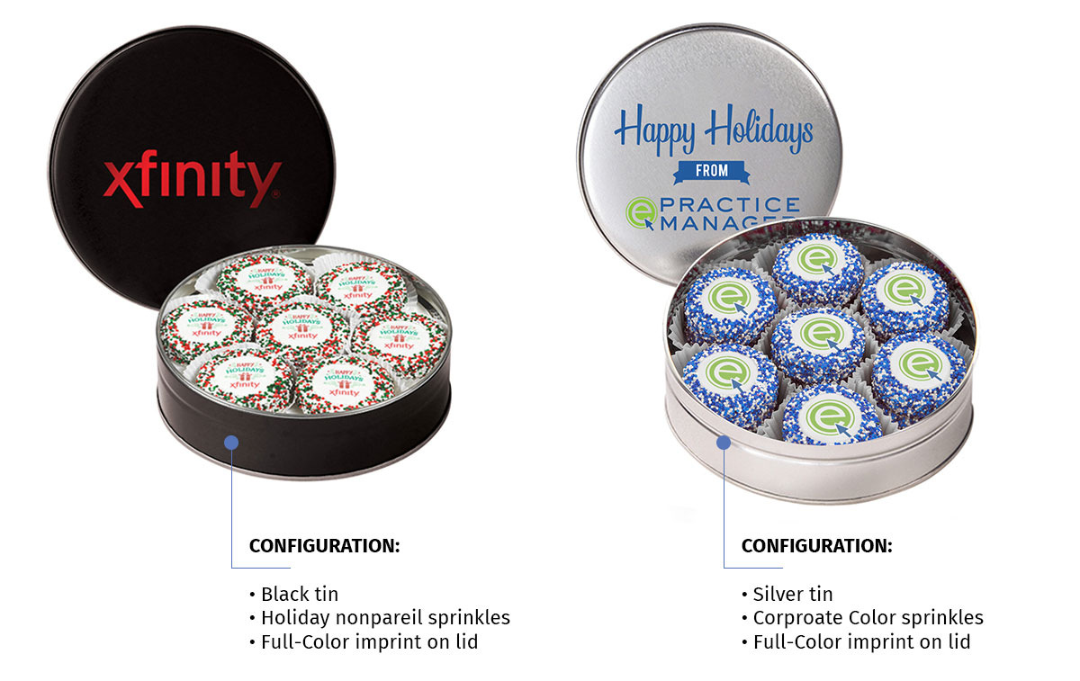 Corporate Chocolate Oreo Tin