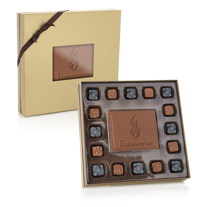 Square Chocolate & Truffle Set