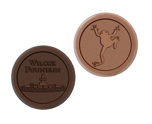 Custom Chocolate Coin Engraving