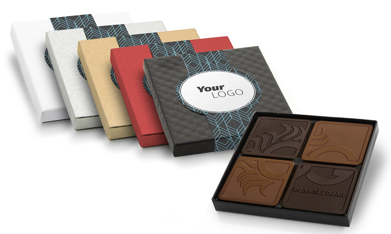 Chocolate Square Packaging Options