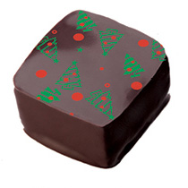Christmas Tree Chocolate Piece