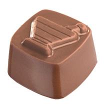 mortar chocolate truffle