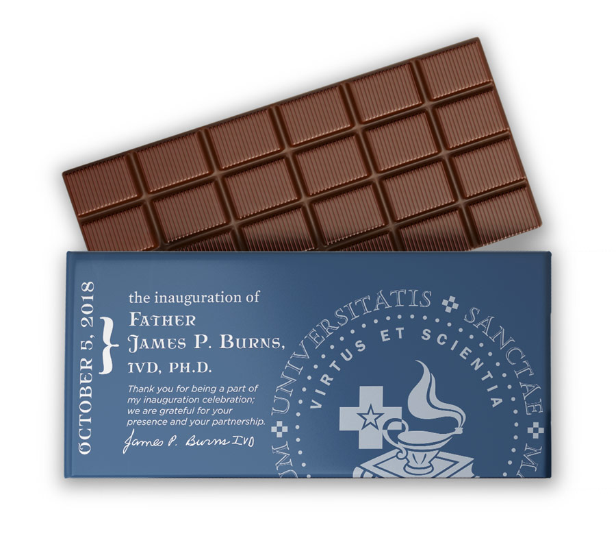 Personalized chocolate bars