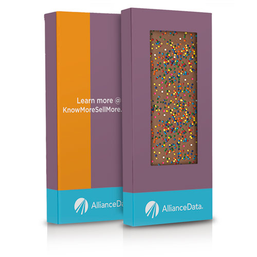 Rainbow Sprinkle Chocolate Bar