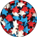 Mini Red, White& Blue Stars