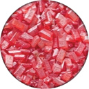 Ruby Red Crystals