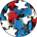Red, White& Blue Stars
